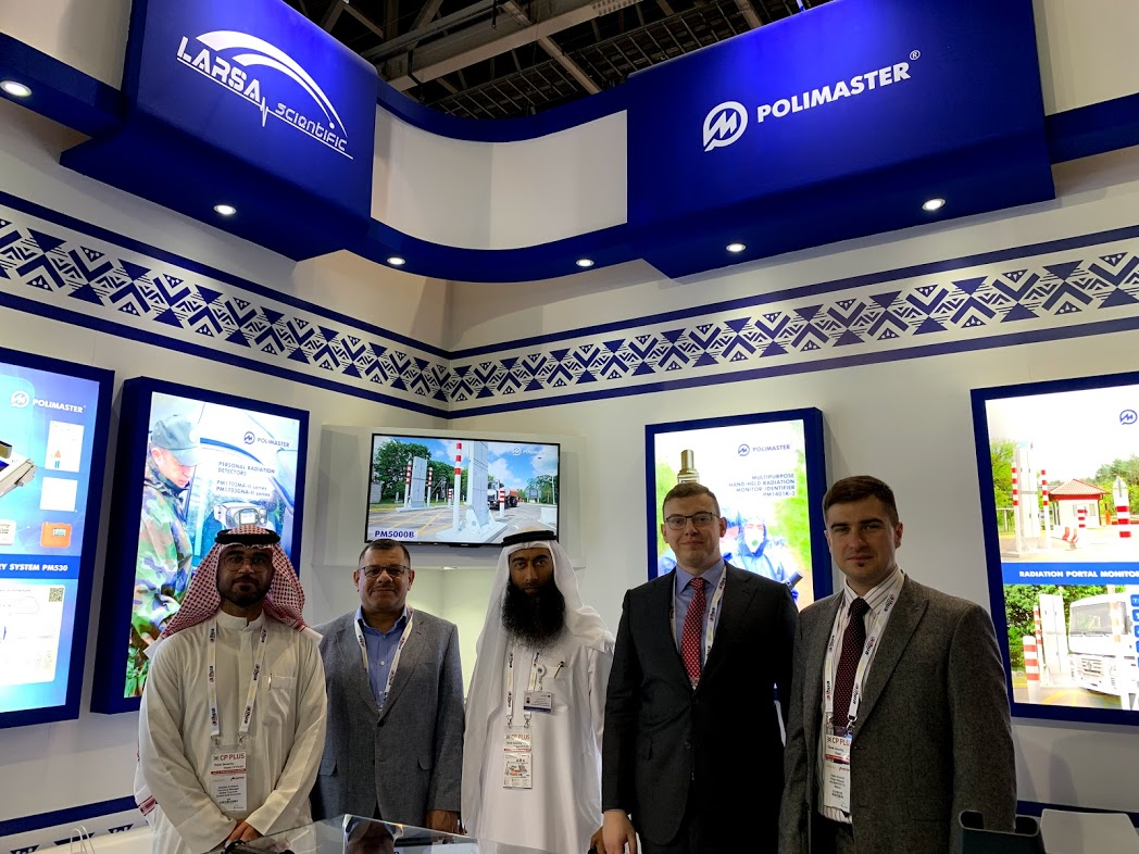 Intersec 2019 Polimaster in UAE