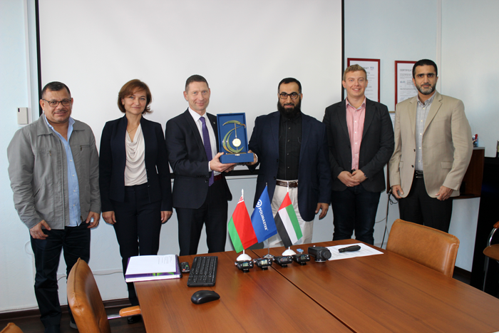 Polimaster meets delegation from UAE